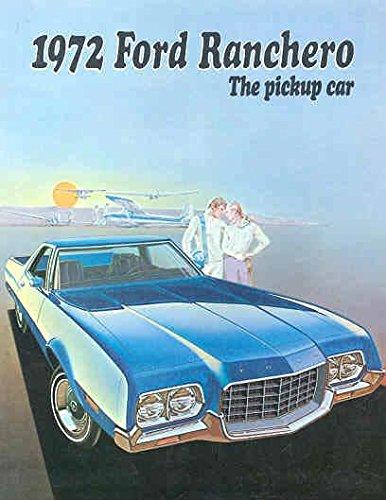 1972 Ford Ranchero Sales Brochure (Brochure Ranchero)