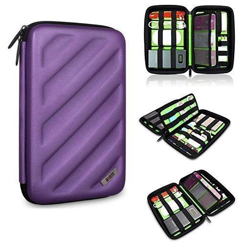 BUBM Portable EVA Hard Drive Case Travel Organizer for Electronics