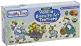 Baby / Child Healthy Times Premium Organic Teething Biscuits Kosher Certified 6-Oz Boxes (Pk Of 12) - Vanilla Infant