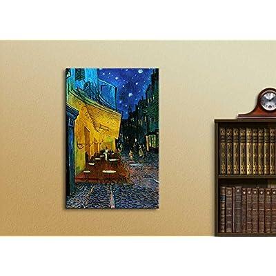Cafe Terrace at Night Vincent Van Gogh Wall Decor 24