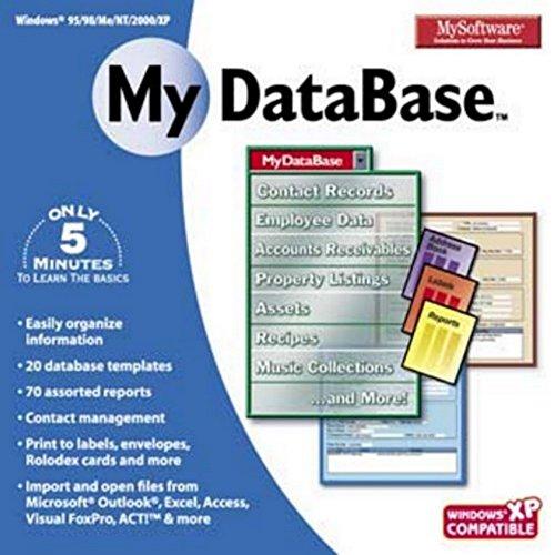 Price comparison product image Mysoftware My Database