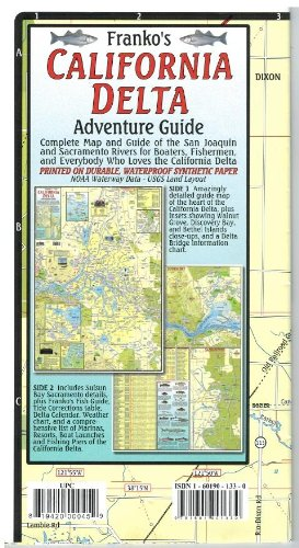 Amazoncom California Delta Adventure Guide Map Office Products