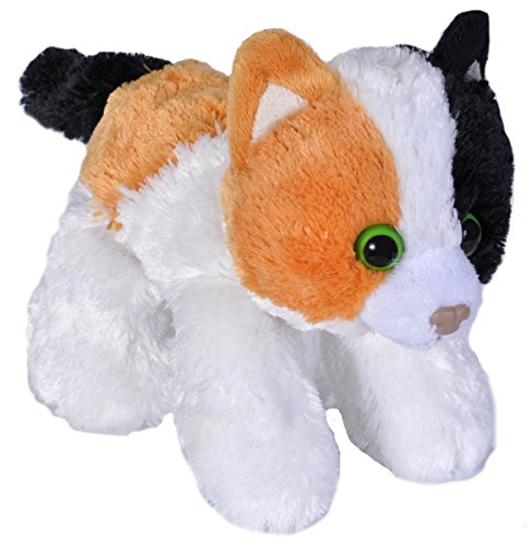 Wild Republic Hug Ems' Calico Cat Plush