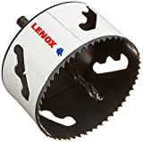 LENOX Tools Bi-Metal Speed Slot Arbored Hole Saw with T3 Technology, 3-5/8''