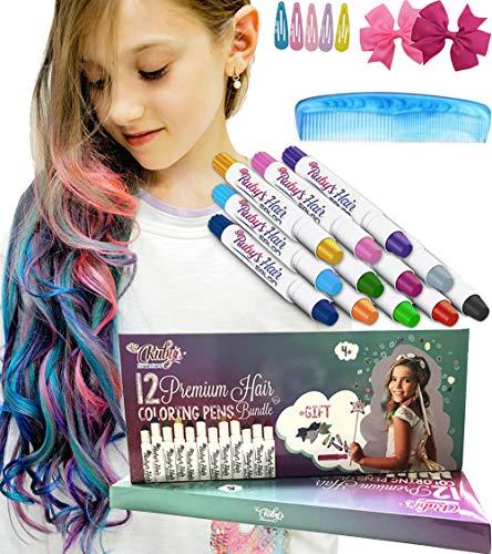 Ruby's Hair Chalk for Girls – Kids...