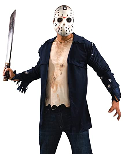 Jason Deluxe Costume estándar: Amazon.es: Juguetes y juegos