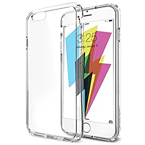 iPhone 6 case, Flexion Crystal Clear [Guardian Series] Shock-Dispersion Technology [Scratch Resistant] Bumper iPhone 6 Case with Clear Back Panel