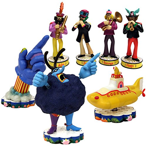 The Beatles Collectibles: 2013 Factory Entertainment Yellow Submarine Shakems Set ()