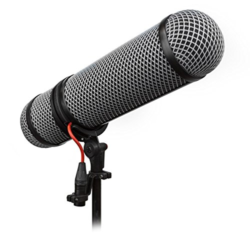 Rycote 10323 Super-Blimp Windshield and Shock-Mounting System for Rode NTG Shotgun Microphones