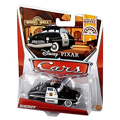 Disney Pixar Cars Sheriff Diecast Vehicle: Toys & Games