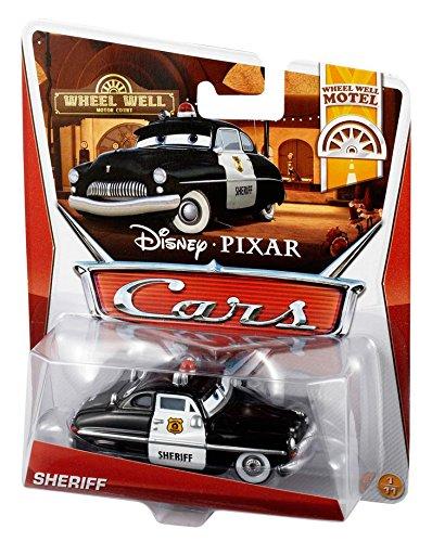 Amazon Com Disney Pixar Cars Sheriff Diecast Vehicle Toys Games