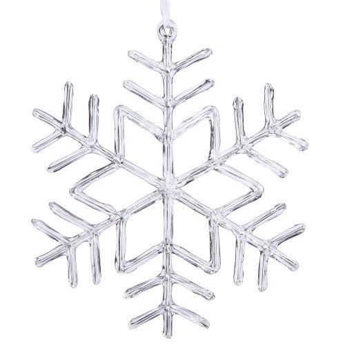 Vickerman M110209 Acrylic Snowflake Poly Bag, 9