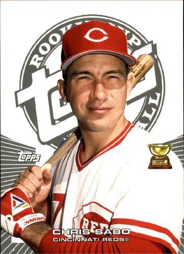 2005 Topps Rookie Cup Baseball Rookie Card #66 Chris Sabo Near Mint/Mint