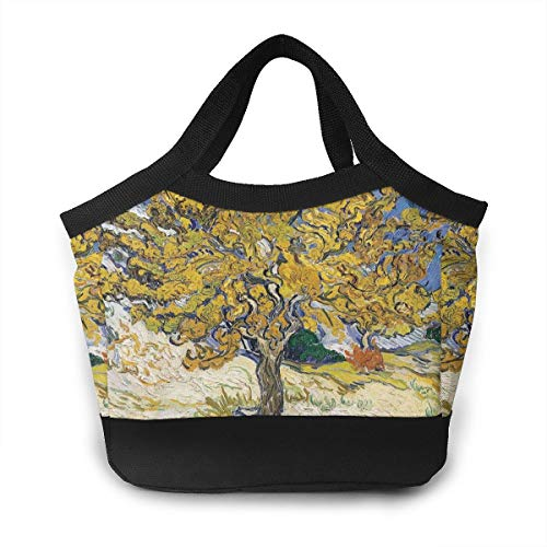 Mulberry Tree Lunch Bag For Women Insulated Lunch Tote Bag Durable Lunch Bag Lunch ()