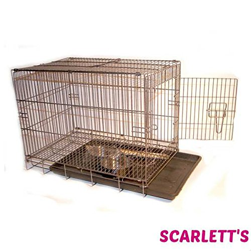 Liberta Small Travel Cage For Birds...with perches and bowls included
