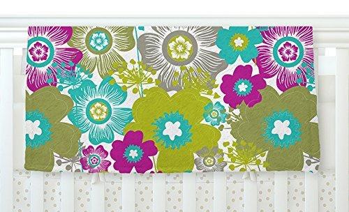 KESS InHouse Nicole Ketchum Little Bloom Fleece Baby Blanket 40 x 30 [並行輸入品]   B0785RFK99