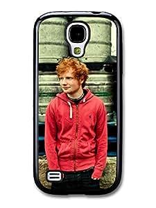 Ed Sheeran Red Hoodie Posing case for Samsung Galaxy S4 mini by ruishername