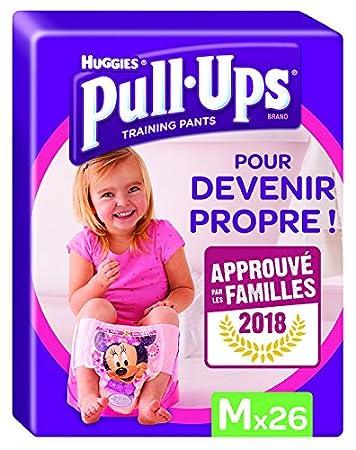 Huggies Pull-Ups Garçon Taille 5/Medium (11-18 kg), Couche-Culotte d'Apprentissage de la Propreté Disney Cars x52 (lot de 2 paquets de 26 culottes) 5029053525969