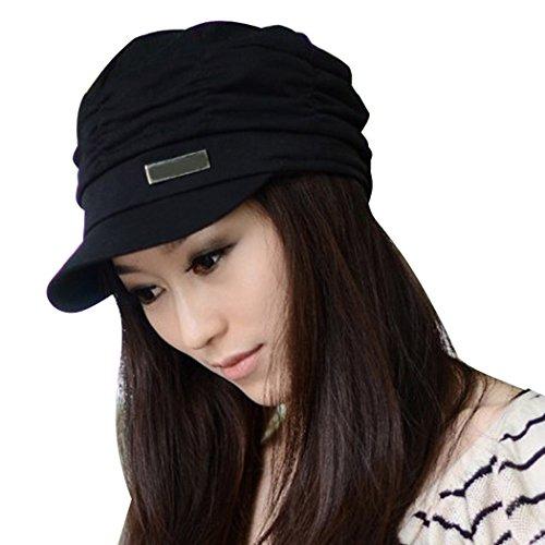ZEARO Damen Plissee Slouchy Ski Hut Hüte Baseball Käppchen Kappe Mützen Sunhat Cap Hat