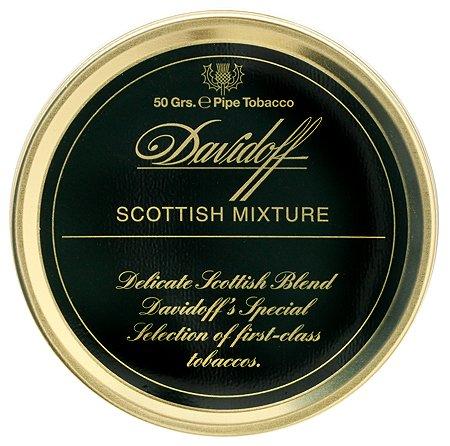 habano757 Davidoff Scottish Mixture Collectible 50 Gr Pipe Tobacco Tin Davidoff Pipe Tobacco