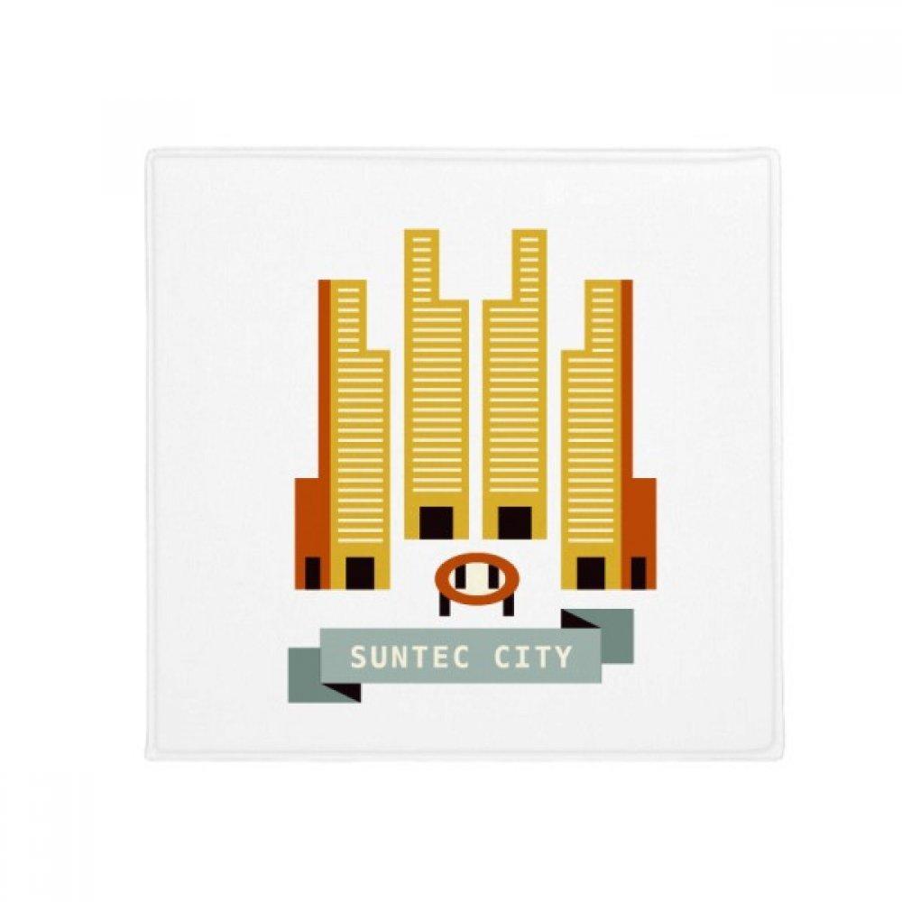 DIYthinker Singapore Suntec City Landmark Anti-Slip Floor Pet Mat Square Home Kitchen Door 80Cm Gift