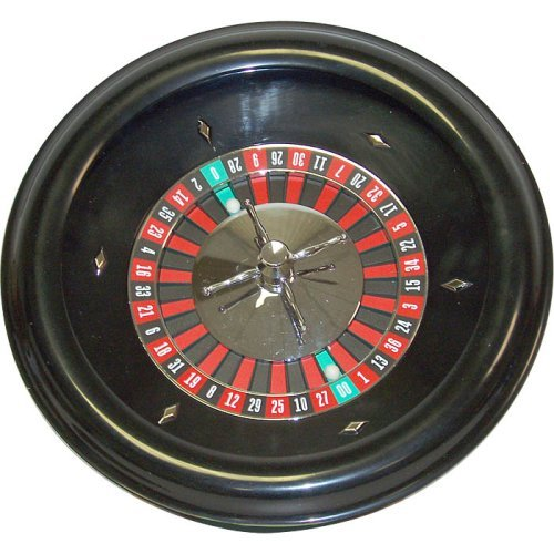 - Trademark Poker 18-Inch Roulette Wheel