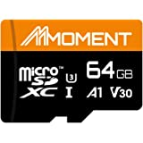 【Amazon.co.jp 限定】モーメント(Moment) microSDXCカード64GB A1 UHS-I(U3) V30 Class10対応 4K ULTRA HD対応 最大読出速度95MB/s 永久保証