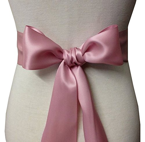 Wedding Sash Bridal Belts Simple Classic Silk Ribbon Sash for Dress 2
