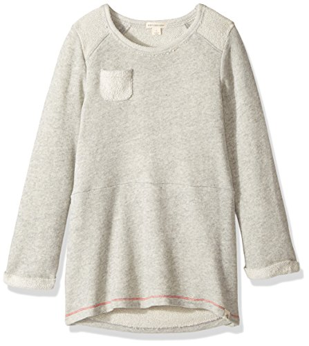 - Burt's Bees Kids Little Girls' Organic Loop Terry Dress, Heather Grey, 6X