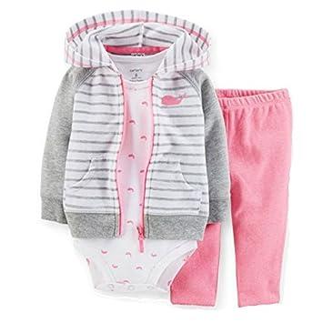 Amazon.com: Carters bebé niñas ballena – Juego de chaqueta ...