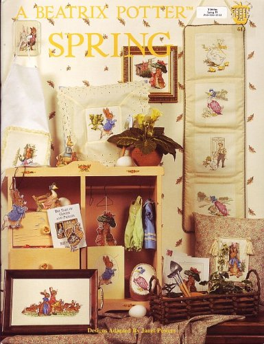 (Beatrix Potter Spring Cross Stitch Patterns Charts)