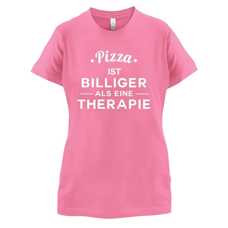 Pizza ist billiger als eine Therapie - Damen T-Shirt - 14 Farben:  Amazon.de: Bekleidung