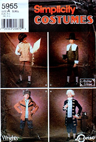 Simpl (Colonial Costumes Patterns Boys)