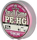 サンライン(SUNLINE) PEライン ソルティメイト スモールゲーム HG 150m 0.15号 2.5lb サクラピンク