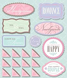 K&company Honeymoon Sticker Medley