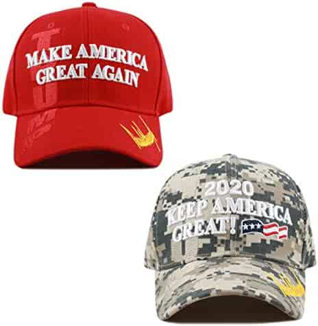 THE HAT DEPOT Exclusive Donald Trump Slogan Keep America Great Make America  Great Again 3D 5ed939c78bfe
