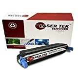 Laser Tek Services® HP C9730A (645A) Black Compatible Replacement Toner Cartridge for use in the HP Color LaserJet 5500, 5500dn, 5500dtn, 5500hdn, 5500n, 5550, 5550dn, 5550dtn, 5550hdn, 5550n