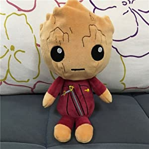 Guardians of the Galaxy 2 Plush Toy Figure Ravager Baby Groot Rocket Star Lord(ravager groot)