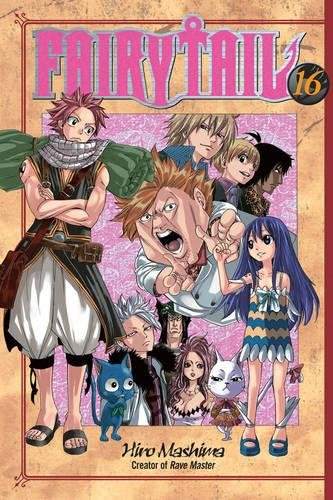 fairy tail manga book 1 - 8