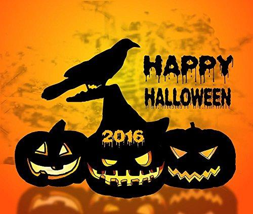 LAMINATED 28x24 POSTER: Halloween Pumpkin Raven Graphics Design Wallpaper The Background Desktop (Halloween Desktop Backgrounds Hd)