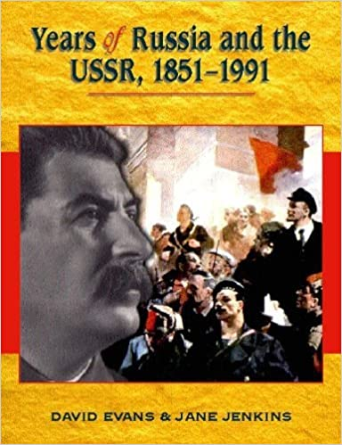 Book Years Of Russia and the USSR, 1851-1991 by David Evans (2-Nov-2001)
