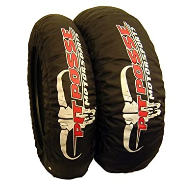Pit Posse Pp3129 Motorcycle Tire Warmer Warmers Sportbike Dual Temp Set 180-195 Tire Size 1 Year Warranty: Automotive