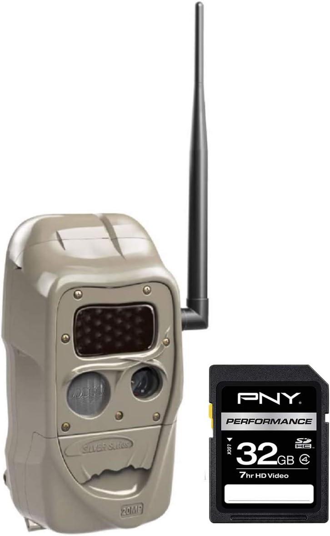 Cuddeback J-1538 CuddeLink J Series Black Flash Camera with SD 32 GB Card