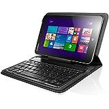 Lenovo純正 MIIX 2 (8インチ)専用・Bluetoothキーボード W608(黒)/ Micro USBリールケーブル付き