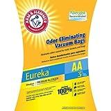 Arm & Hammer 9-Pack Odor Eliminating Vacuum Bags, Eureka AA ™ Premium Allergen