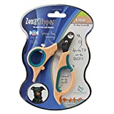 Zen Clipper Pet Nail Trimmers for Dogs Between 20-30 lbs - The Worry-Free Nail Scissors - Unique Blade Clips The Tip Not The Quick - Stress/Injury-Free Nail Cutting and Grooming - 3.5mm