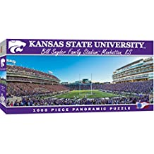 MasterPieces Collegiate Kansas State Wildcats 1000 Piece Stadium Panoramic Jigsaw Puzzle