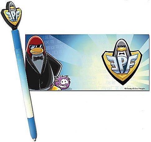 Club Penguin Elite Penguin (Disney Club Penguin Nintendo DS Elite Force Club Stylus Pen Skin)