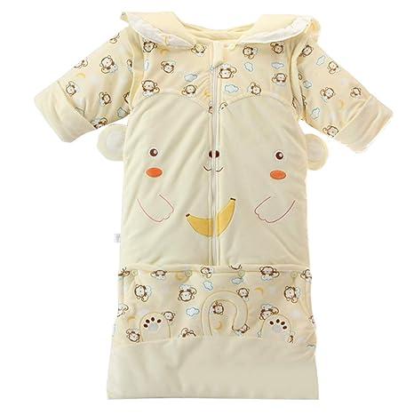 Bebé Saco de Dormir Encapuchado Mangas Extraíbles - 3 Tog Bebé Sacos para dormir 0-
