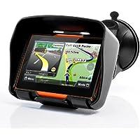 BW® all Terrain 10,9cm Motorcycle GPS Navigation System 'Rage'–Impermeabile, 4GB di Memoria Interna, Bluetooth
